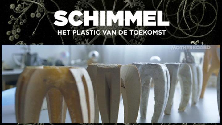 Schimmel, het plastic van de toekomst, Mycelium Project, Eric Klarenbeek, Designers of the unusual